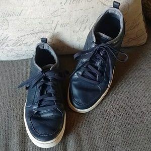 Men's Adidas AR-D1 blue leather shoes s 8.5